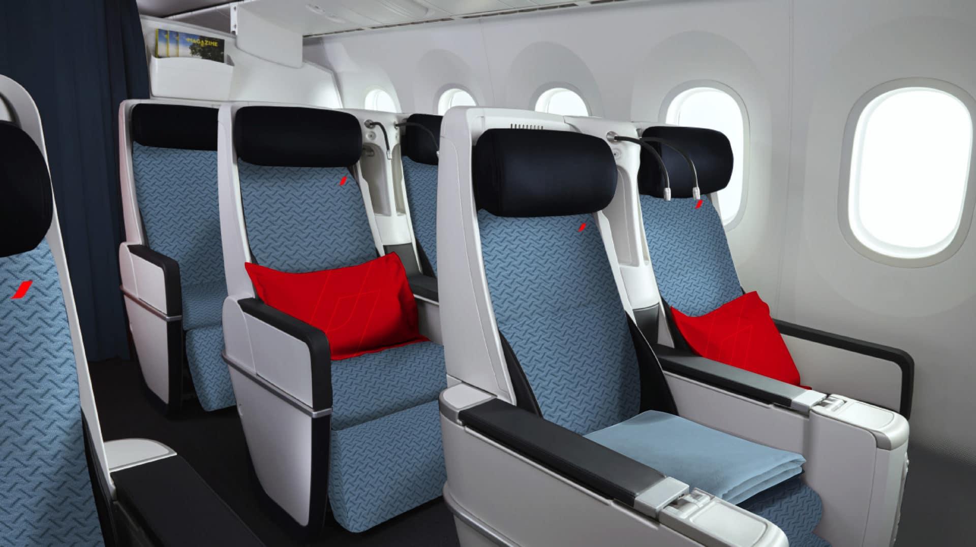 Classe Premium Economy d'Air France