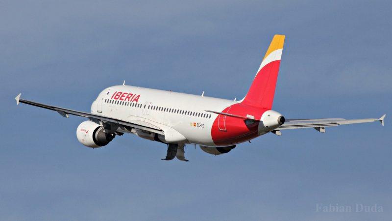 Iberia avion Airbus