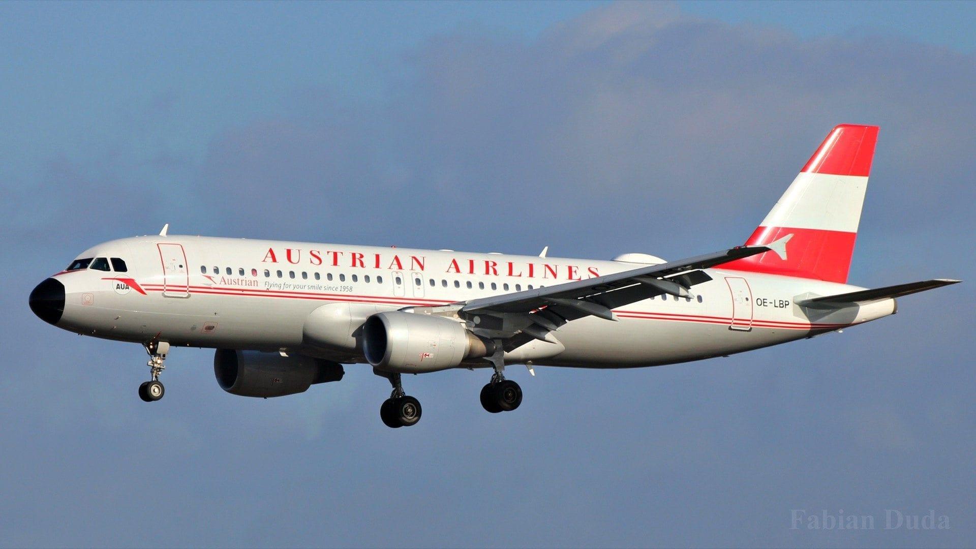 Airbus A320 d'Austrian Airlines