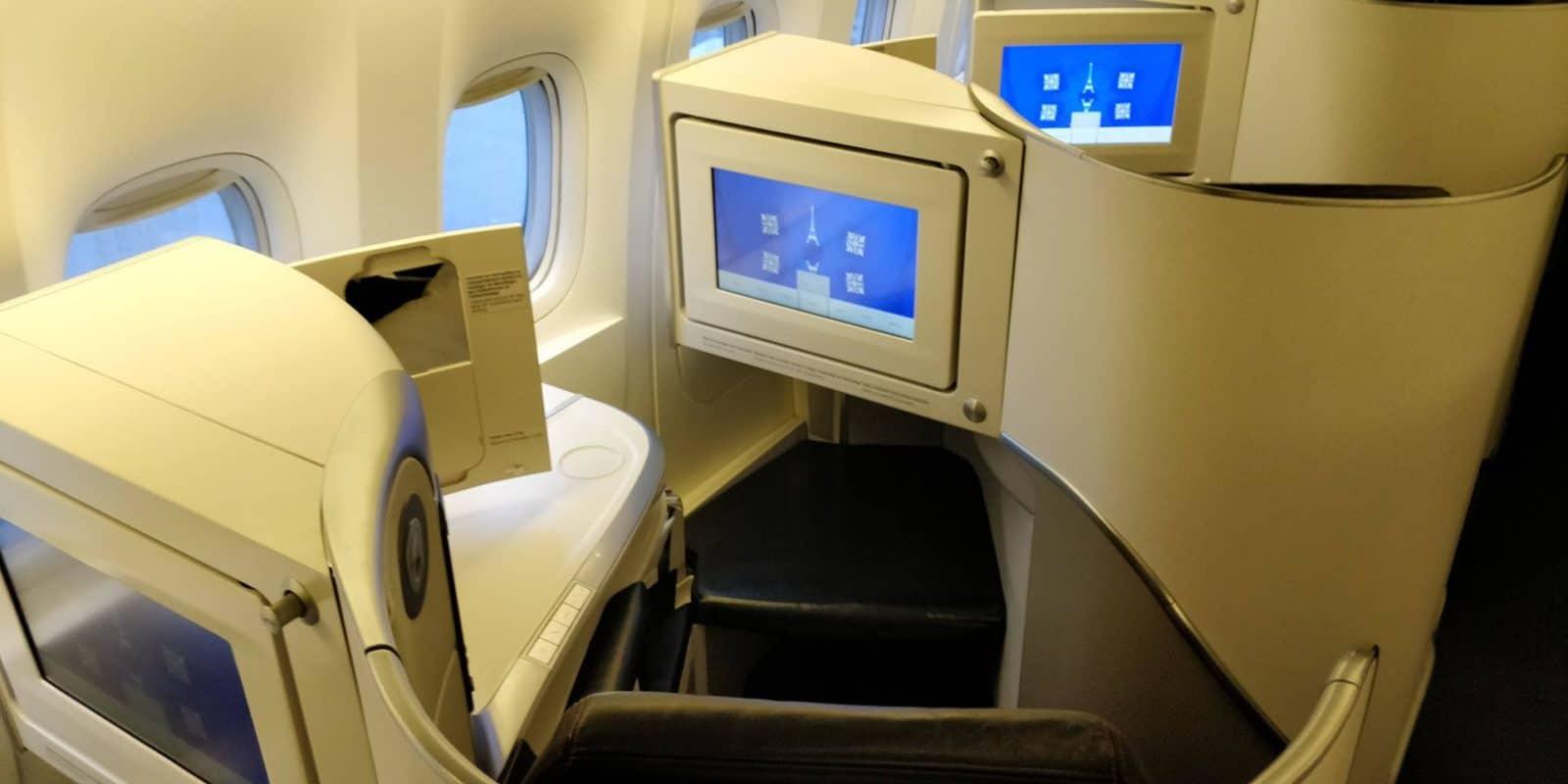 Classe Business avec Air France