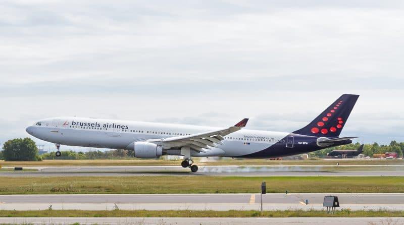 Avion de Brussels Airlines