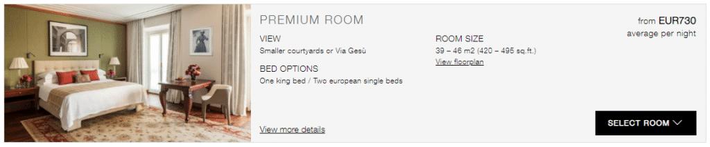 Promotion en cours à l'hôtel 5 étoiles Four Seasons Hotel Milano