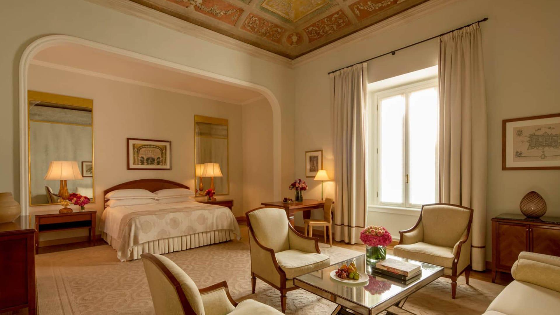 Chambre au Four Seasons Hotel à Milan