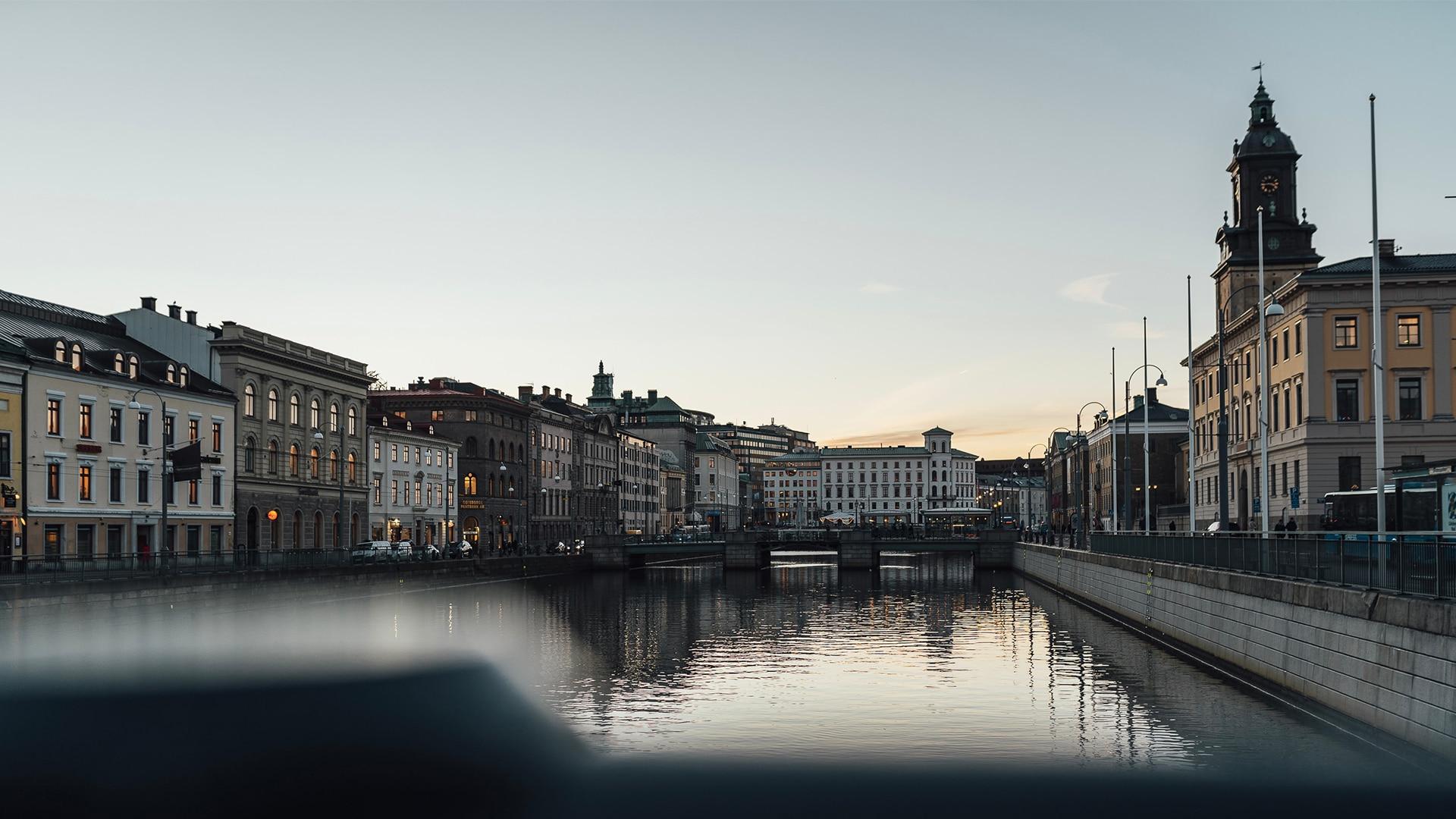 La ville de Göteborg, en Suède