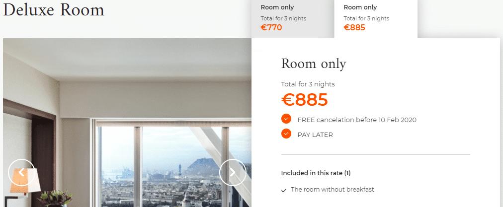 Hotels Arts Barcelona