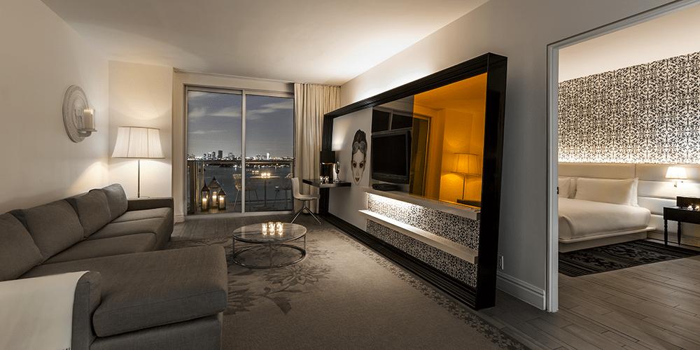 Hôtel Mondrian South Beach, USA