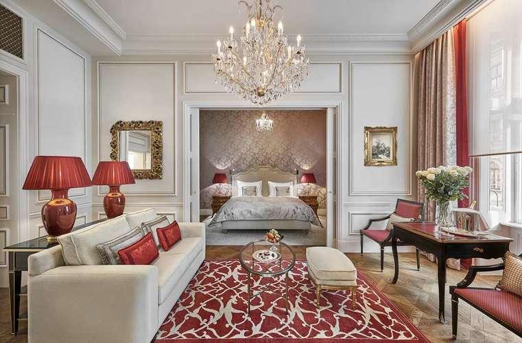Suite à l'Hôtel Sacher Vienne