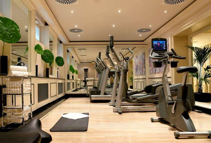 Salle de sport à l'Hôtel Sacher Vienne