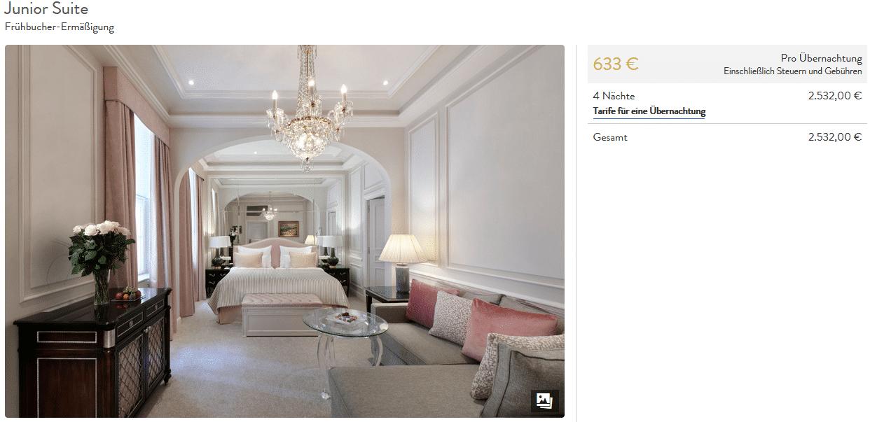Bon plan à l'Hôtel Sacher Vienne