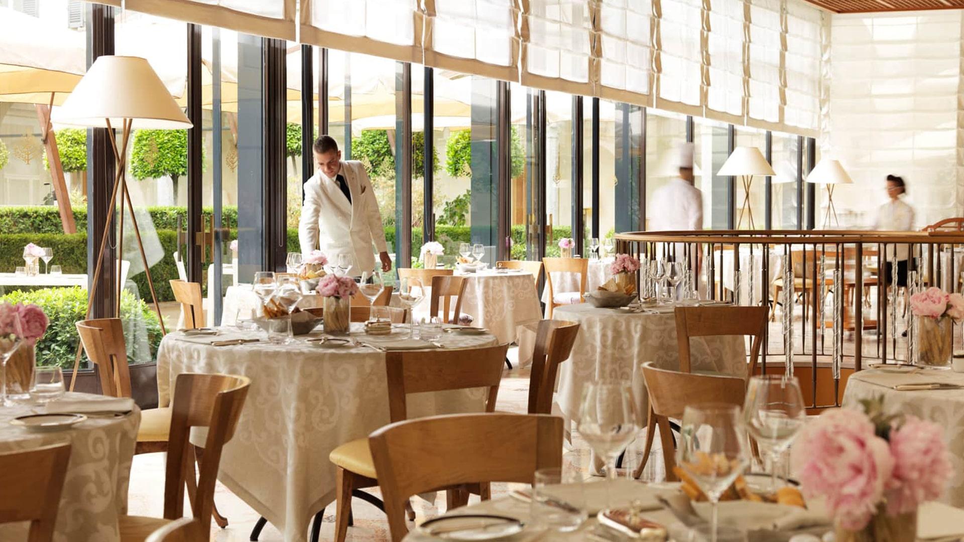 Restaurant La Veranda du Four Seasons Hotel à Milan