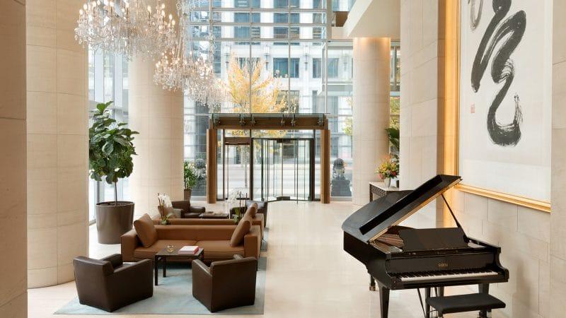 Lobby du Shangri-La Hotel à Vancouver