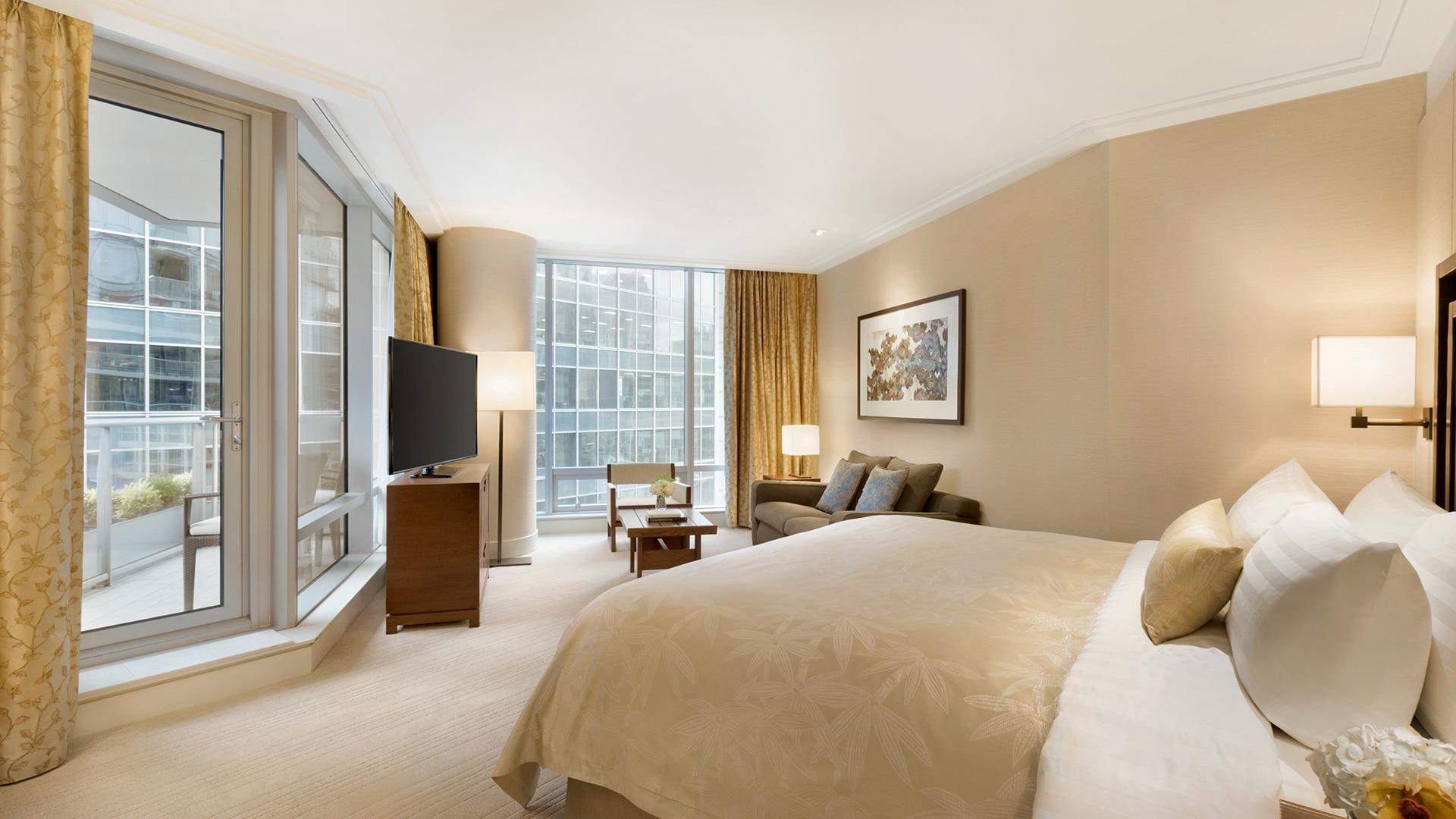 La Executive King Room au Shangri-La Hotel à Vancouver