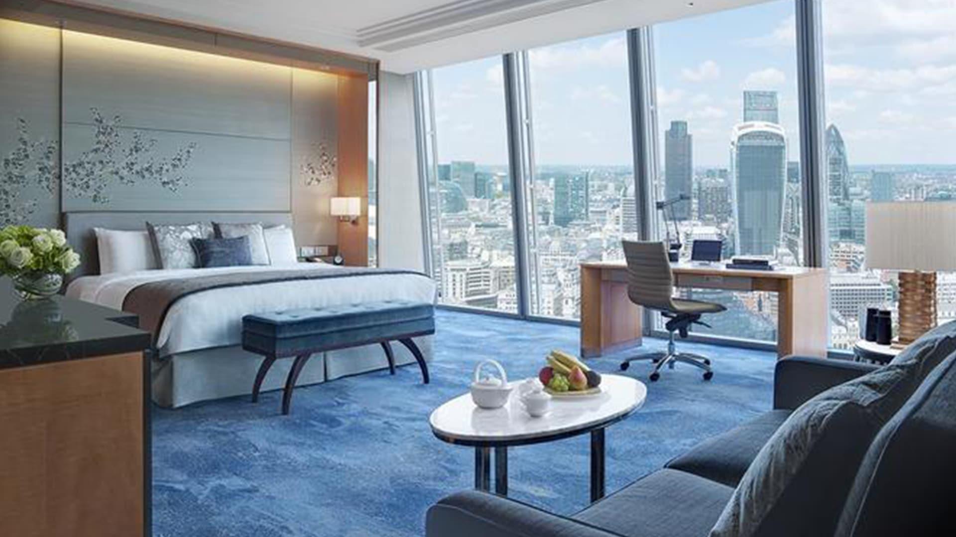 Chambre du Shangri-La à Londres