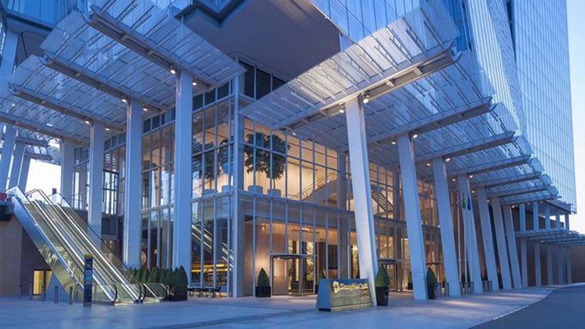 Hôtel Shangri-La à Londres situé dans The Shard
