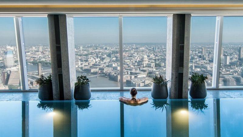 Piscine du Shangri-La à Londres