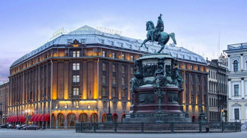 Hôtel Astoria à Saint-Pétersbourg