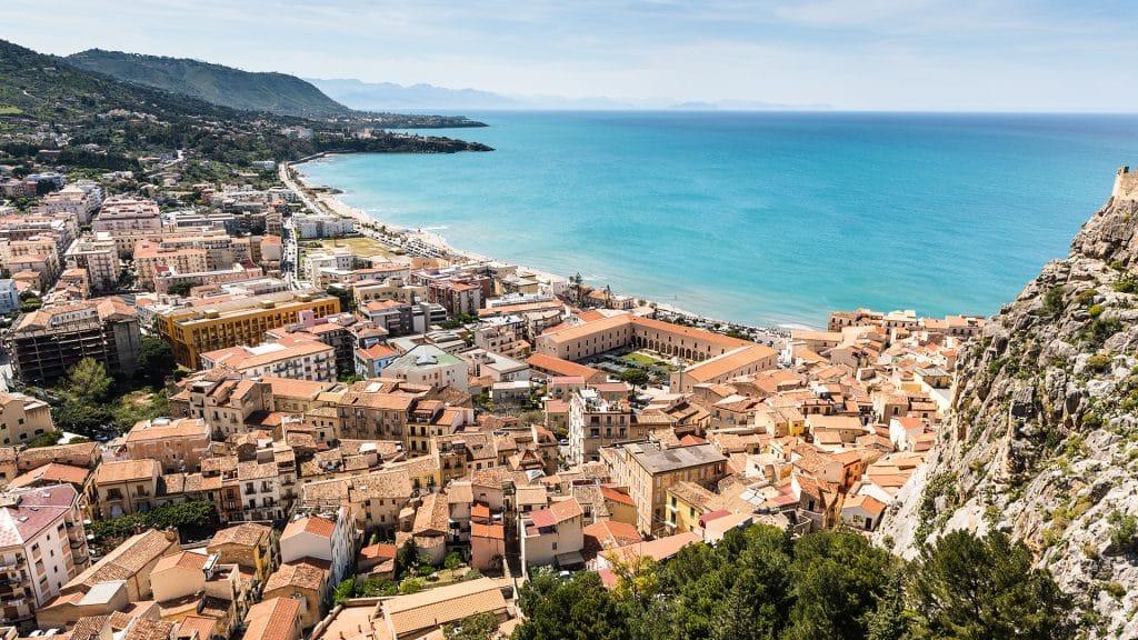 Cefalù, ville côtière du nord de la Sicile