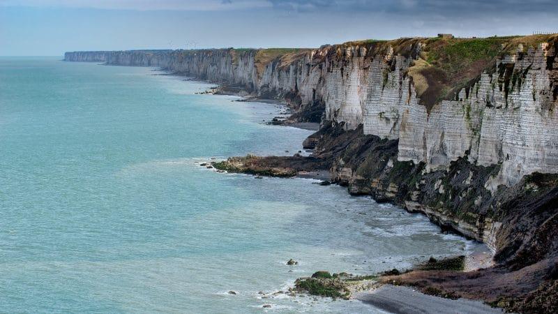 Côtes de la Normandie en France