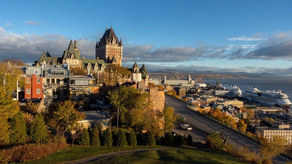Ville de Québec, au Canada