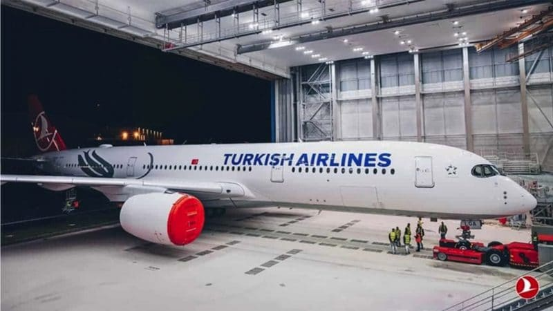Airbus A350 de Turkish Airlines