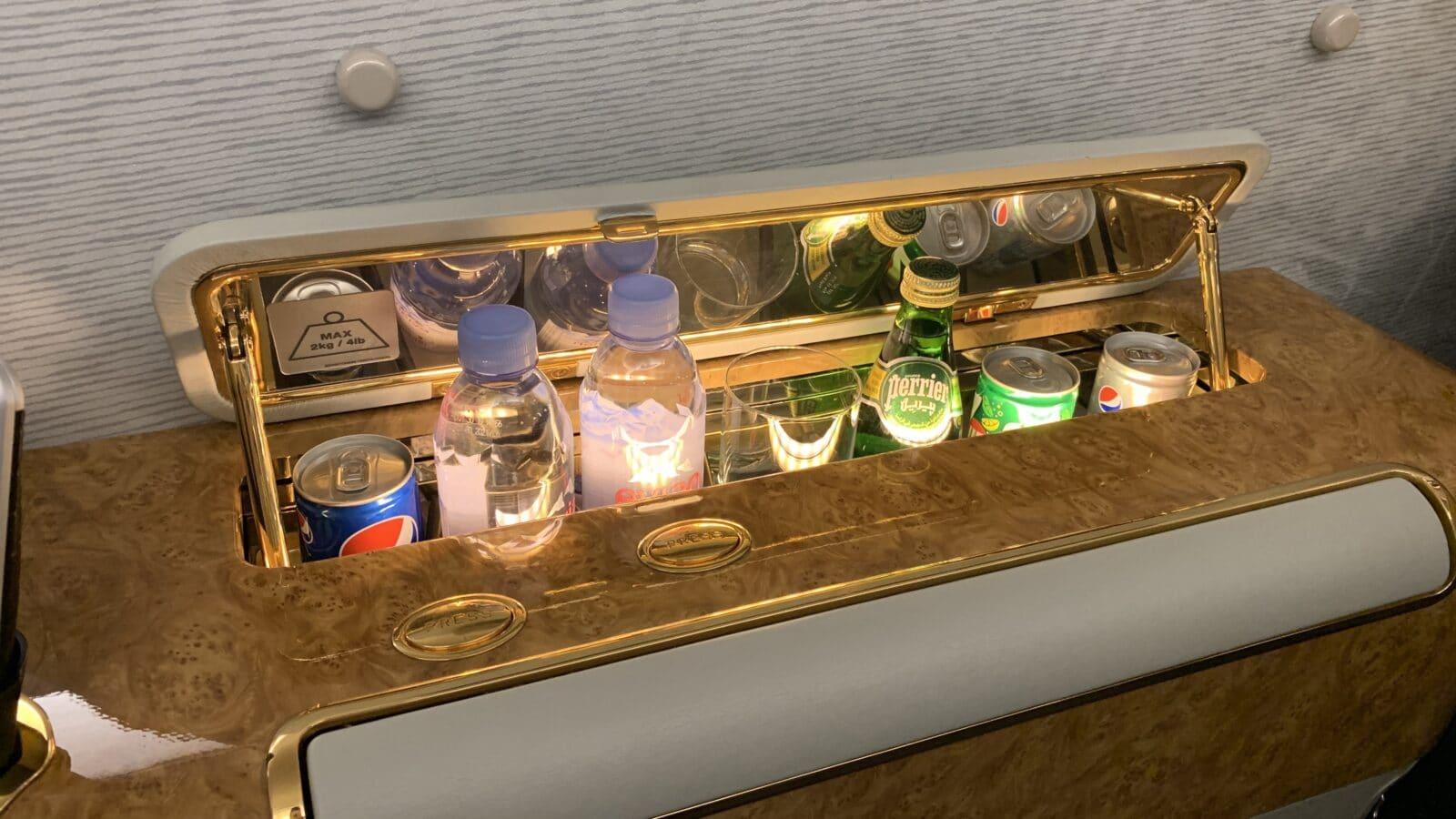 Première Classe dans le Airbus A380 d'Emirates