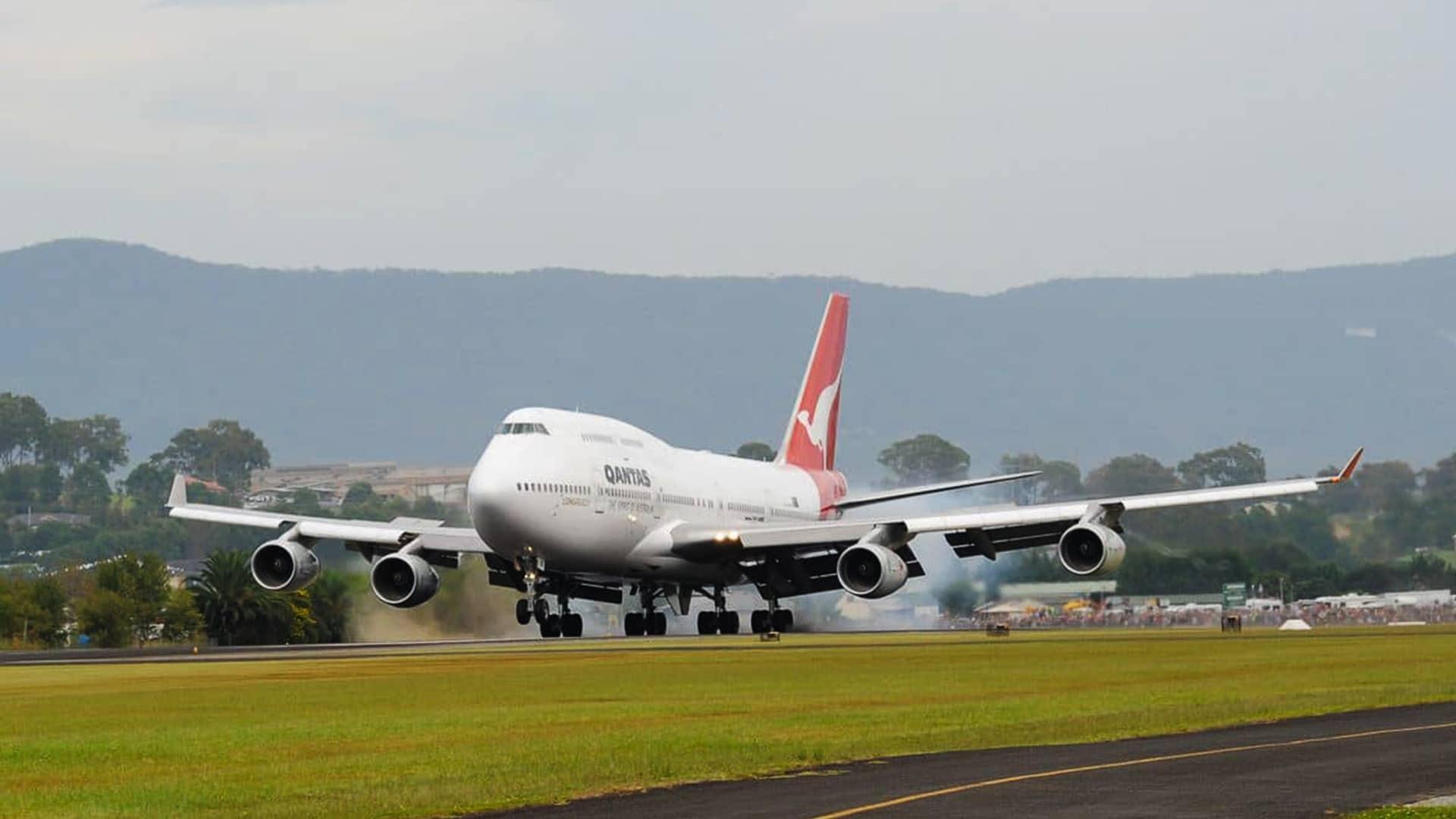 Qantas 747
