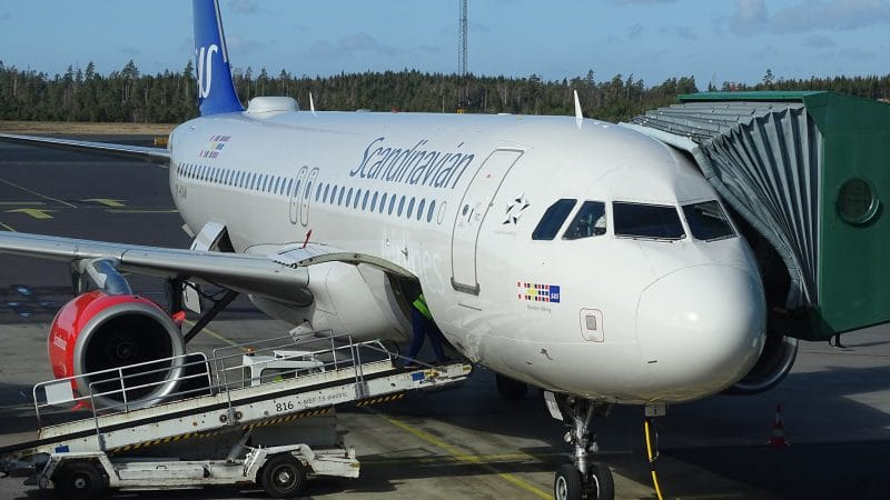 SAS Scandivanian Airlines