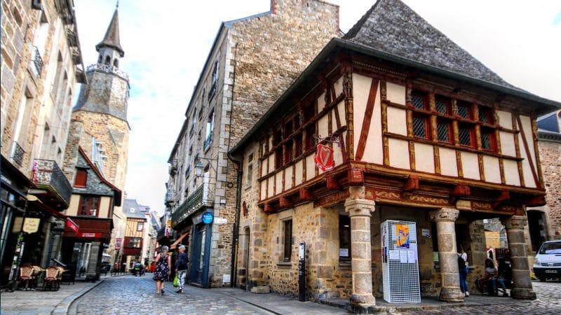 Dinan, en France