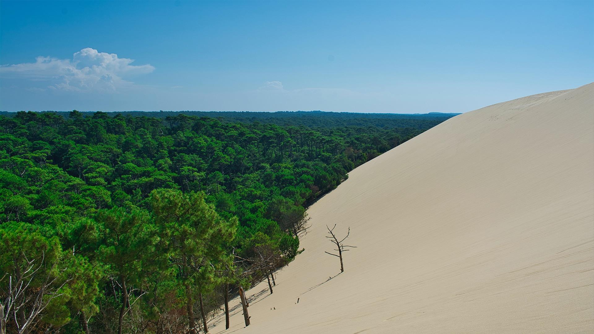 Dune du Pilat, en France