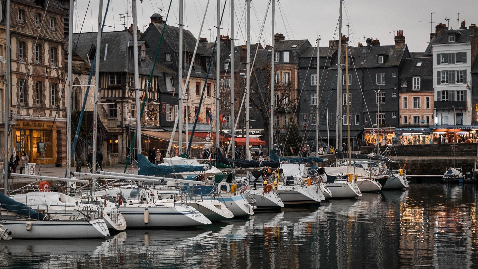 Honfleur, en France