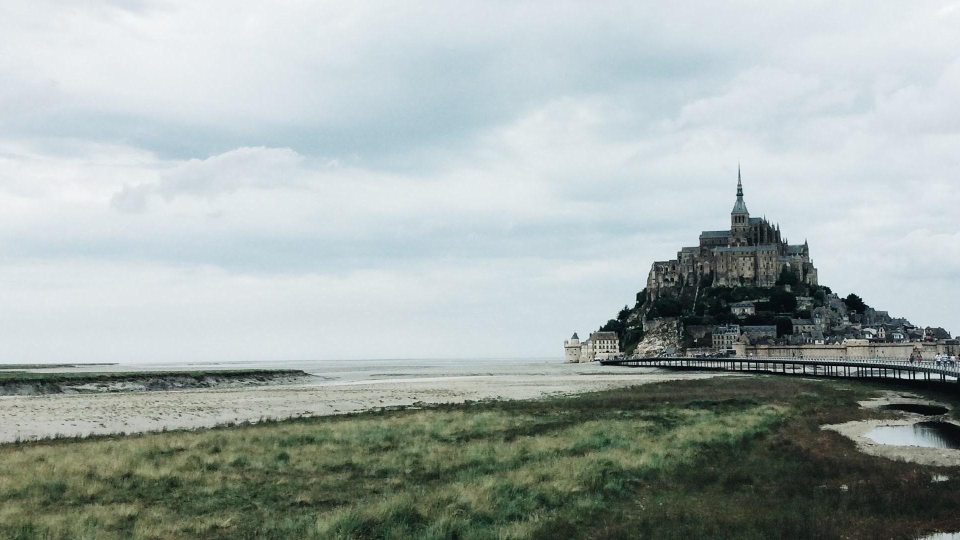 Mont Saint-Michel, en France