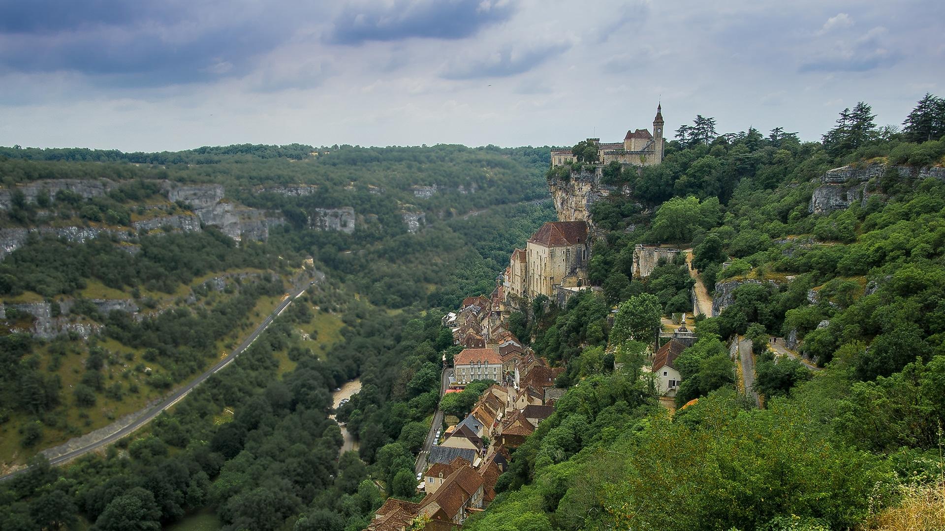 Rocamadour, en France