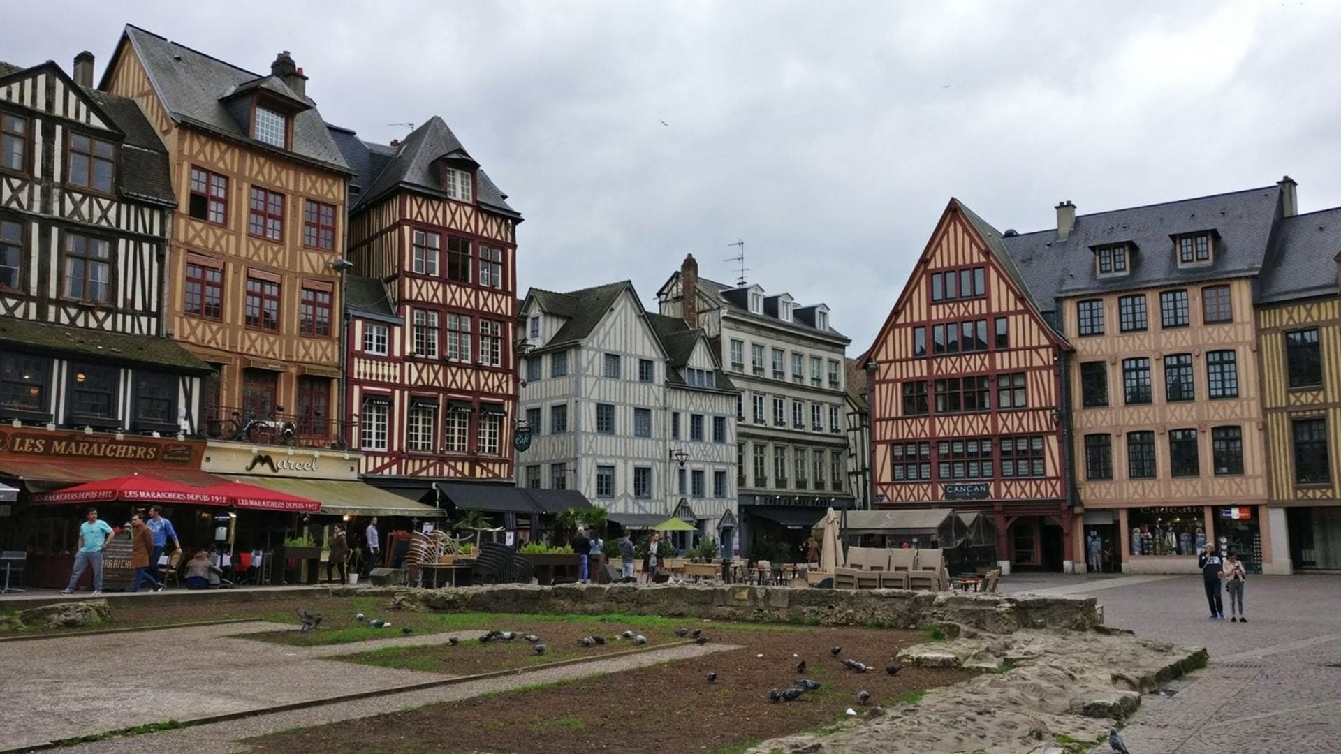 Visiter Rouen, en France