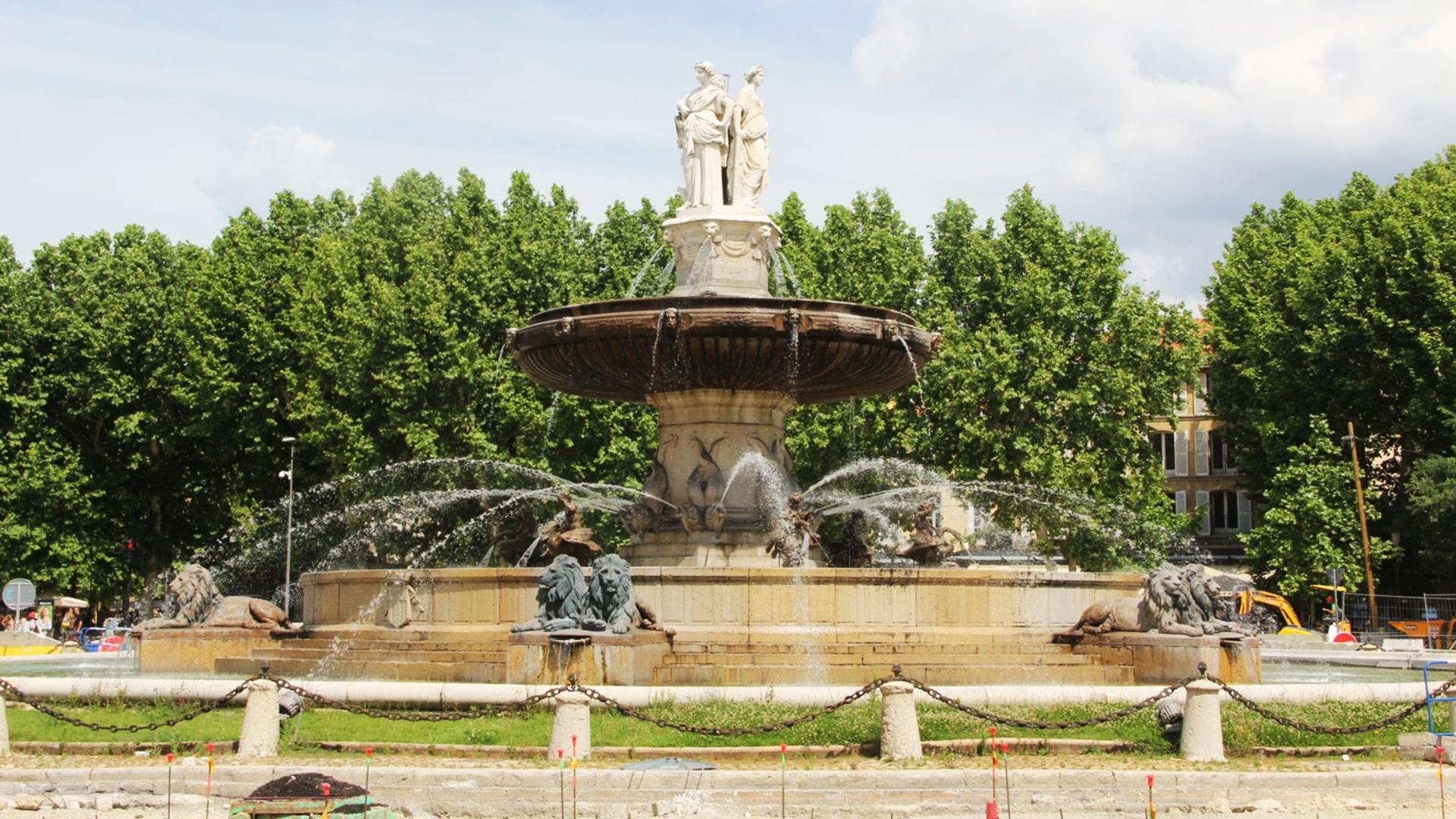 Visiter Aix-en-Provence :