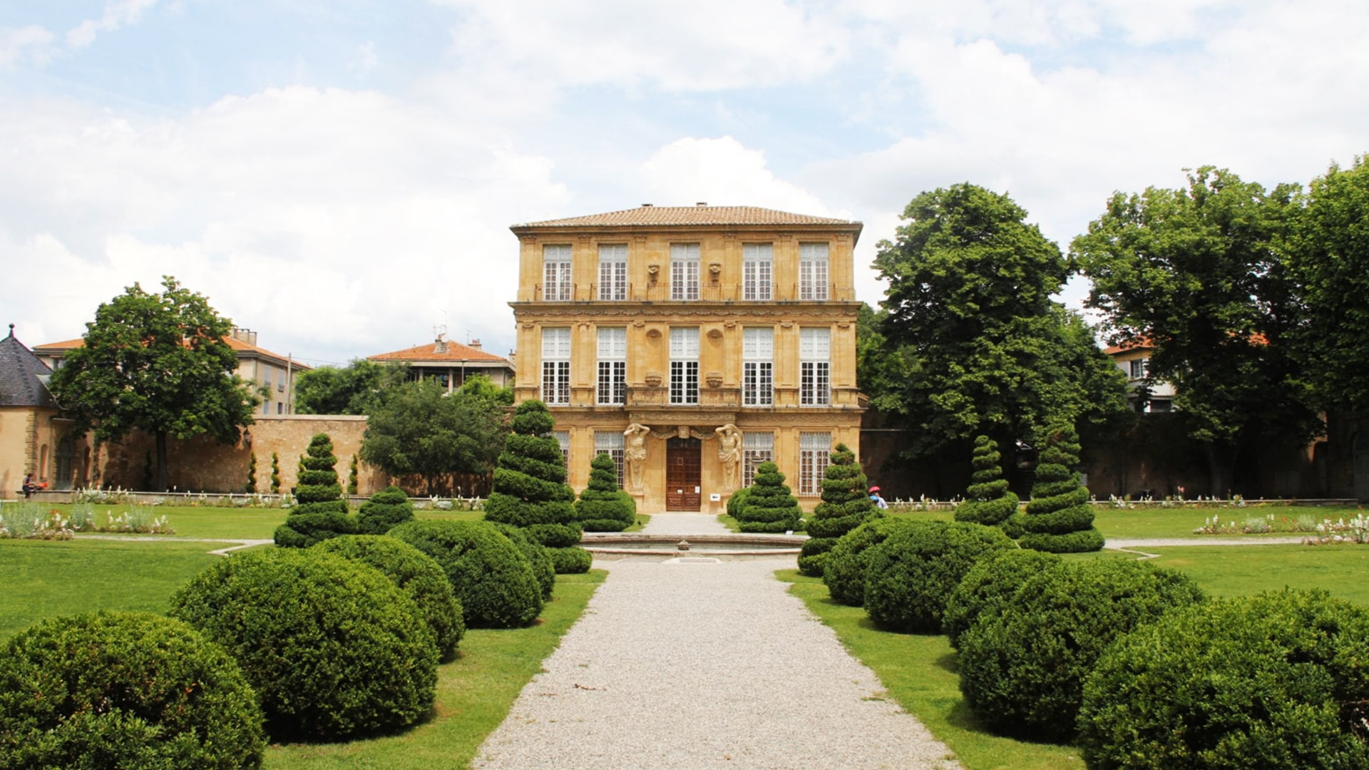 Visiter Aix-en-Provence : le pavillon Vendôme