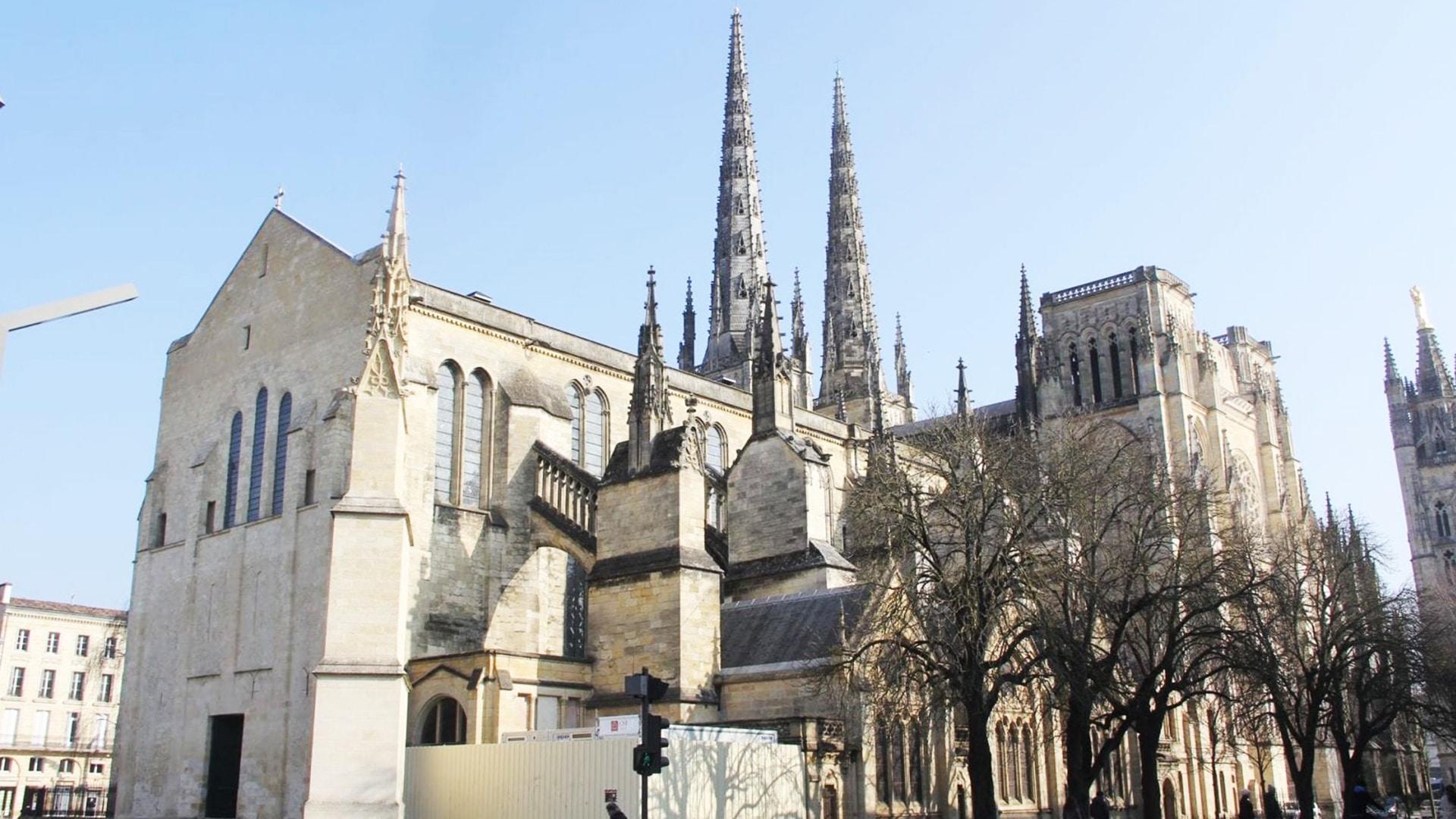 Visiter Bordeaux : La cathédrale Saint André de Bordeaux