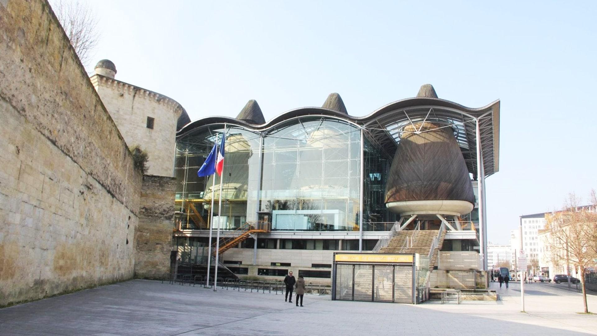 Visiter Bordeaux : Le Tribunal de Grande Instance de Bordeaux