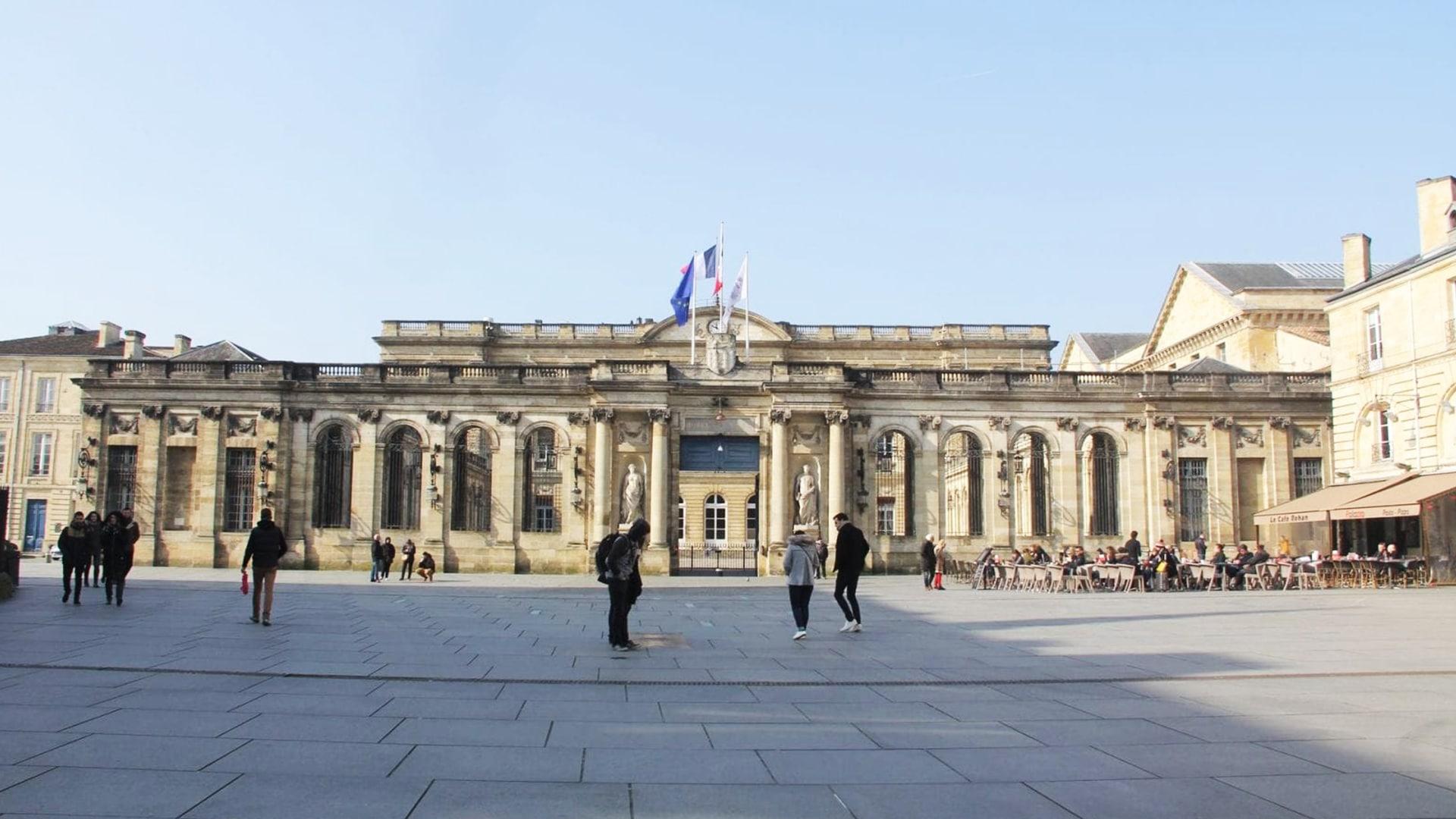 Visiter Bordeaux : l'Hôtel de ville