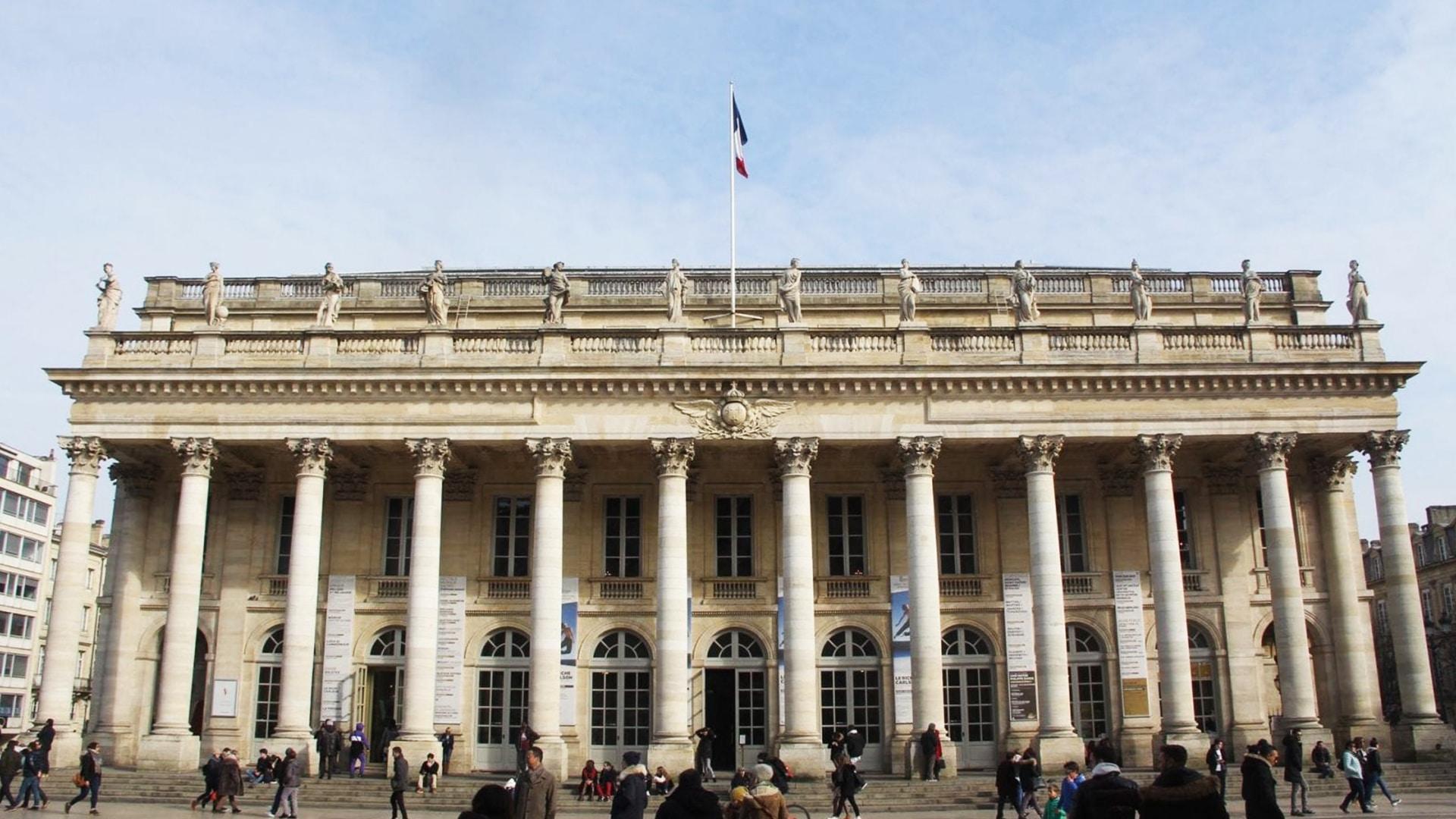 Visiter Bordeaux : le Grand-Théâtre
