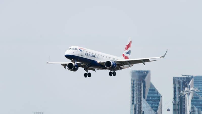 British Airways avion