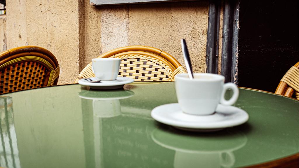 Café à Marseille