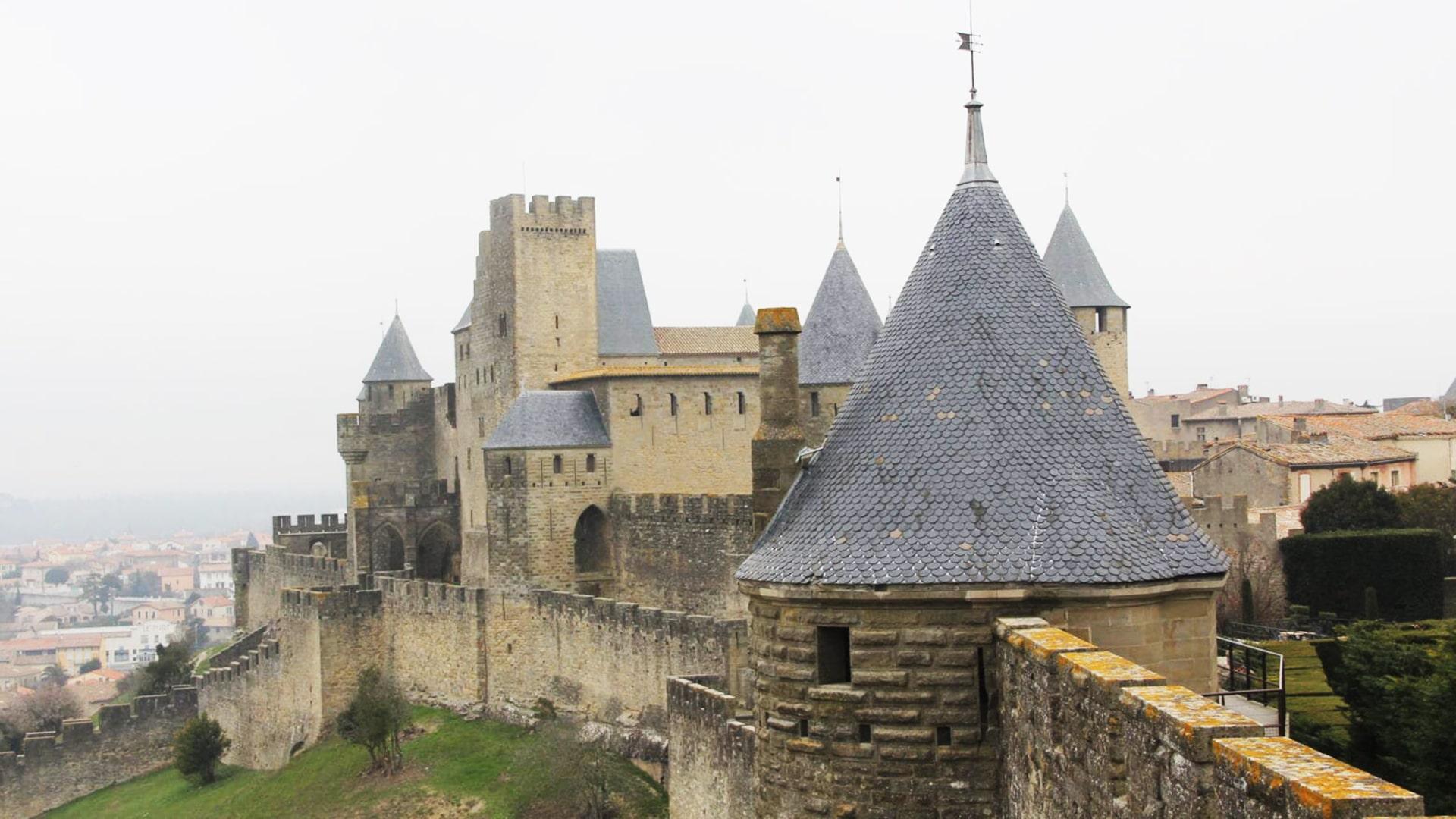 Visiter Carcassonne : le château et les remparts