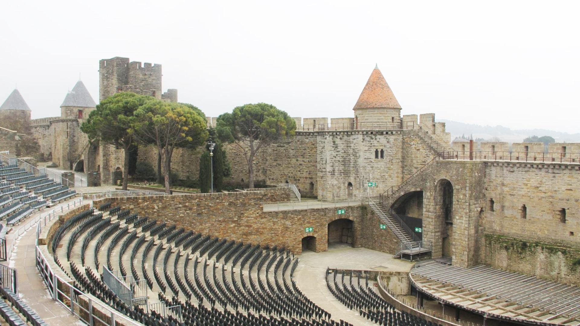 Visiter Carcassonne : le théâtre Jean-Deschamps