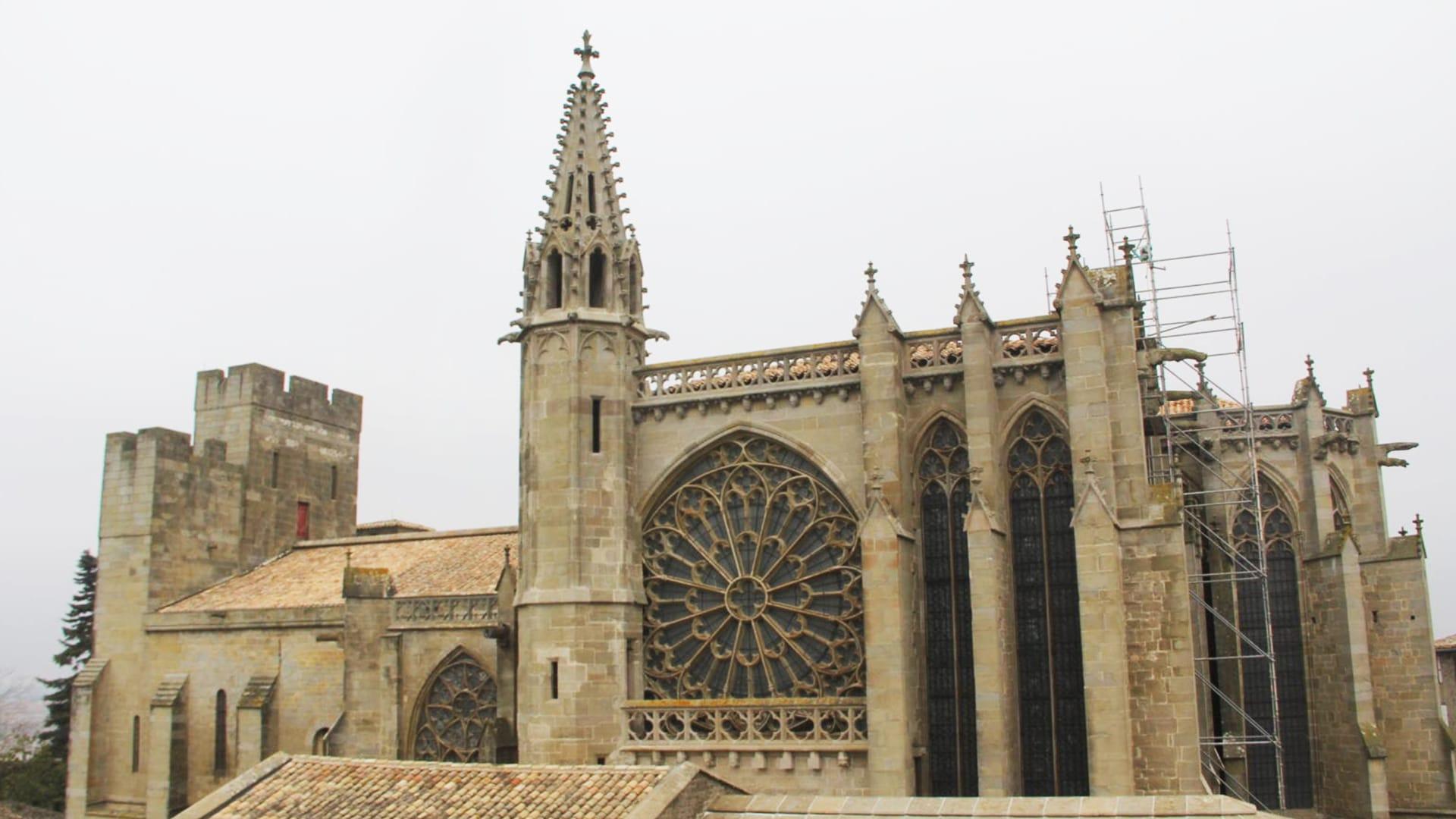 Visiter Carcassonne : la basilique Saint-Nazaire-et-Saint-Celse