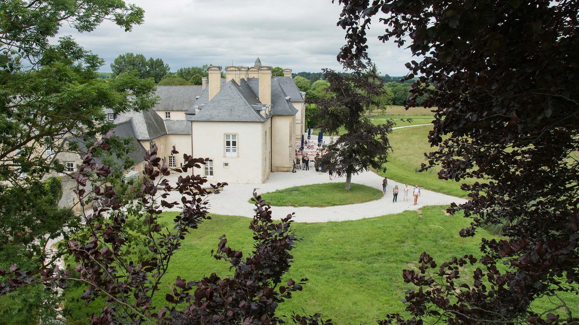 Hôtel en France : Château d'Audrieu
