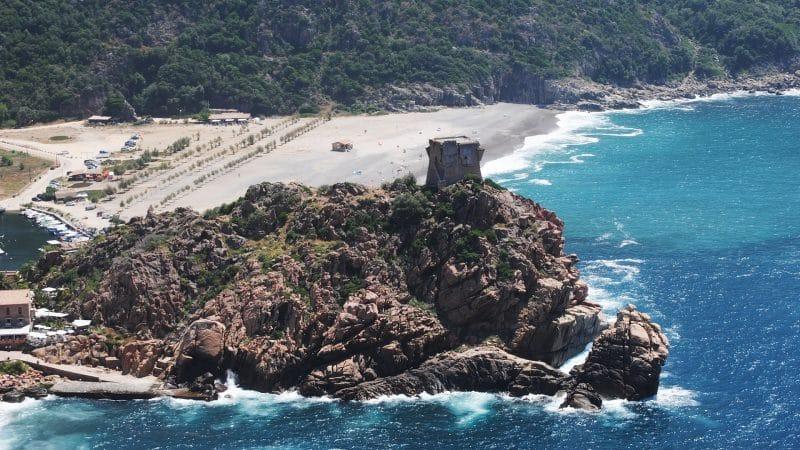La Corse, en France