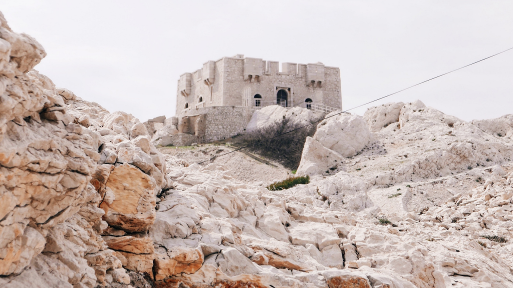 Une île près de Marseille