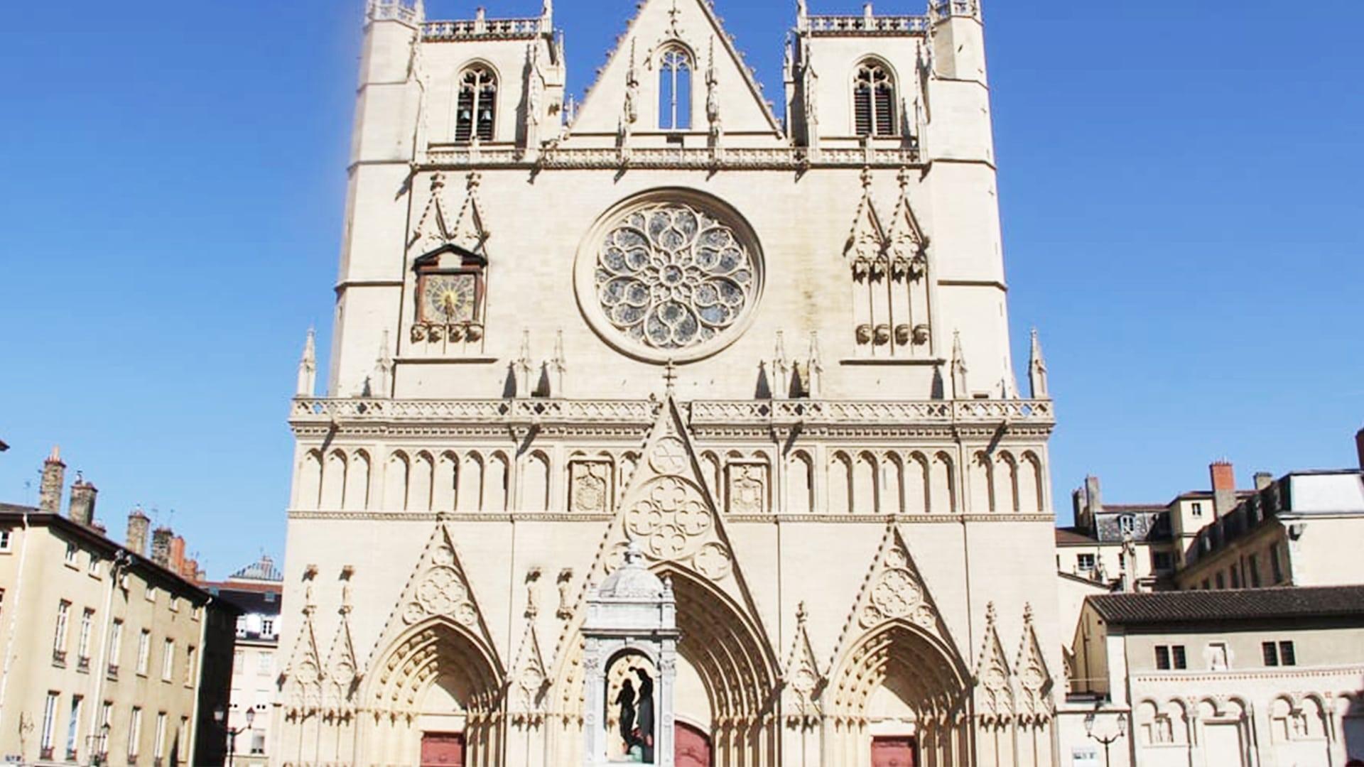 Visiter Lyon : cathédrale Saint-Jean