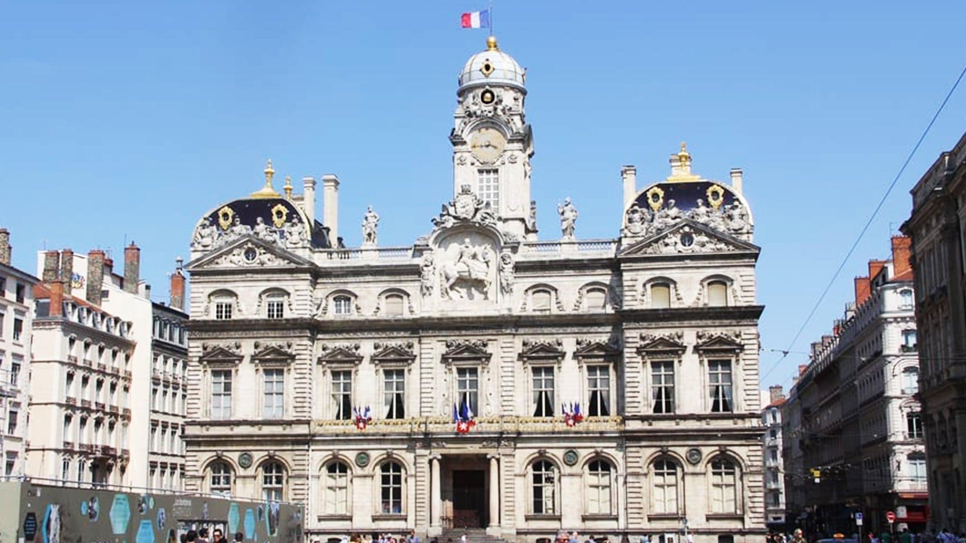 Visiter Lyon : hôtel de ville