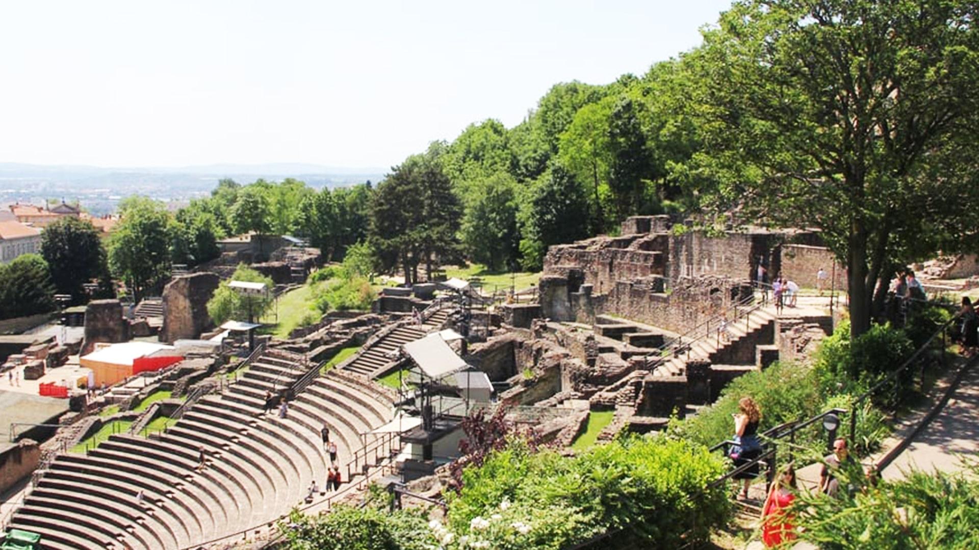 Visiter Lyon : théâtre antique